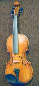 Oliver Five-String Fiddle, front view