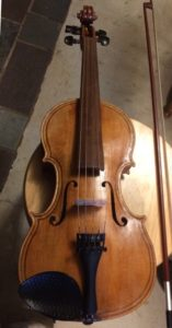 Commissioned Five-string fiddle complete.